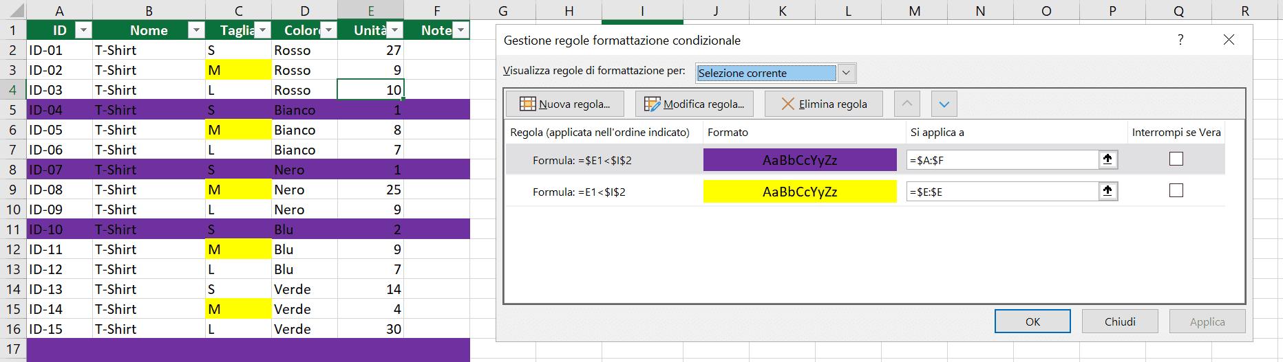 formattazione-condizionale-riga-intera-21
