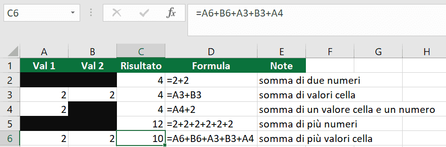 formule-excel-10-somma