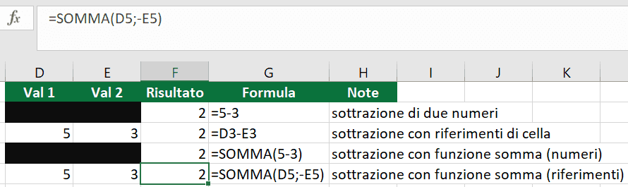 formule-excel-16-sottrazione