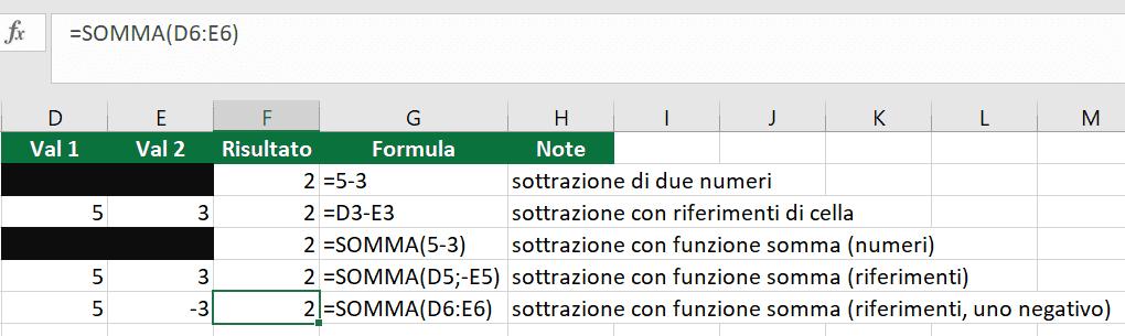 formule-excel-17-sottrazione