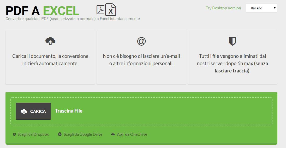 pdftoexcel.com